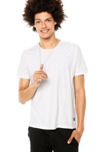 Camiseta Ellus 2Nd Floor Print Branca