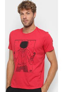 Camiseta Manga Curta Ellus 2Nd Floor Space Cowboy Masculina - Masculino