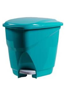 Lixeira Ecológica Com Pedal Astra Plástico 16 Litros
