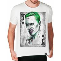 Camiseta Coringa Artseries Masculina - Masculino-Branco f755762d34149