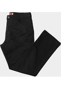 Calça Sarja Biotipo Plus Size Slim Fit Masculina - Masculino