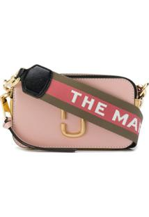 Marc Jacobs Bolsa Transversal The Softshot - Rosa