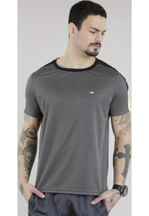 Camiseta Ace Basic Dry Chumbo