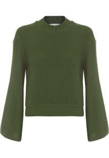 Blusa Feminina Tricot Manual Lucid - Verde