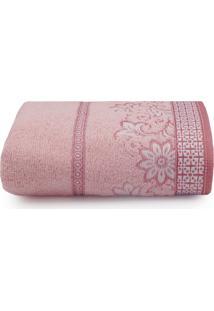 Toalha De Banho Avulsa Appel - Di Fiori - Rosa Quartzo