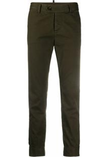 Dsquared2 Calça Jeans Slim Cropped - Verde