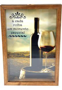 Quadro Decorativo Tabaco Porta Rolhas Momento Especial Prolab Gift