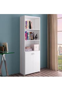 Estante Para Livros Mo8800 Branco - Art In Móveis