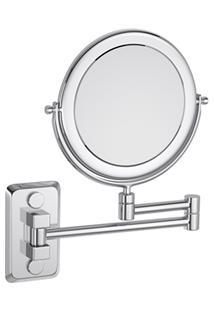 Espelho Duas Faces Deca Hotel 31X29,5Cm Cromado