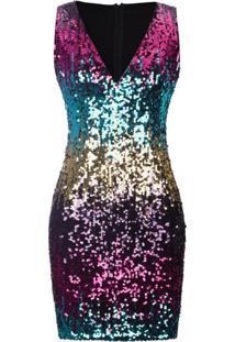 Vestido Pretty Glow - Azul Xgg