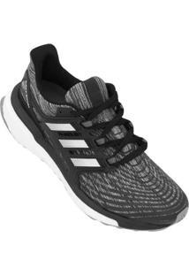 Tênis Adidas Energy Boost Feminino - Feminino-Preto+Branco