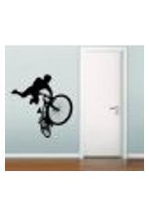 Adesivo De Parede Esporte Ciclismo - G 100X100Cm
