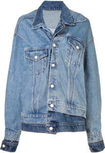 Monse Jaqueta Jeans Oversized - Azul