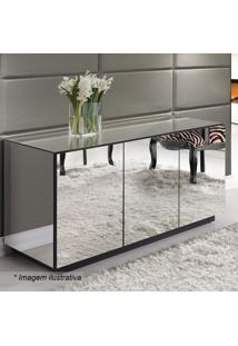 Balcão Reflex Liso- Espelhado- 78X135X48Cm- Rg Mrg Móveis