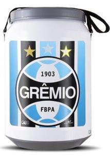 Cooler Térmico 24 Latas Oficial Grêmio Pro Tork - Unissex-Branco
