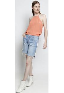 Bermuda Jeans Luma- Azulforum