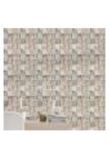Papel De Parede Adesivo 3D Pedras Np039 Rolo 0,58X3M