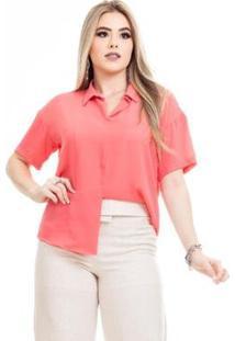 Blusa Clara Arruda Minimalista 20582 Feminina - Feminino