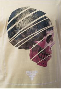 Camiseta Fallen Upset Mind Ex Amarelo