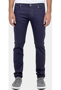 Calça Forum Skinny Super Escura Elastano - Masculino