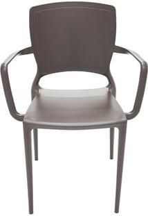 Cadeira Sofia Fechada Marrom - Tramontina