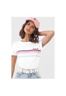 Camiseta Hang Loose Sun Collors Branca