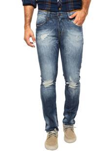 Calça Jeans Triton Gilson Slim Azul