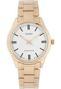 Relógio Feminino Casio - Unissex-Dourado