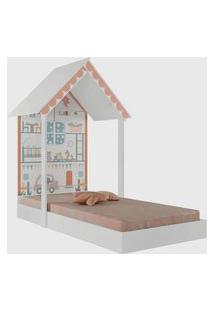 Mini Cama Casinha Montessoriana Home Branca Pura Magia
