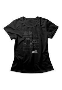 Camiseta Feminina Arctic Monkeys Do I Wanna Know? Preto