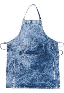 Avental Denim Sky