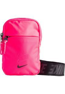 Pochete Nike Sportswear Essentials Pink/Preto - U