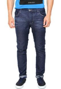 Calça Jeans Fiveblu Slim Eco Azul