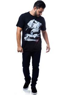 Camiseta Zero Rail Masculina - Masculino-Preto