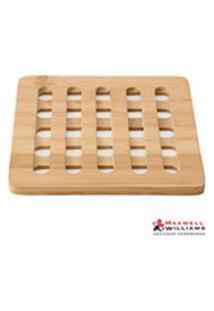 Descanso Para Panela Em Bambu - Maxwell Amp; Williams