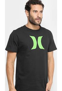Camiseta Hurley Silk Icon Color Masculina - Masculino