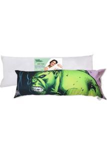 Kit Travesseiro Agarradinho + Fronha Hulk