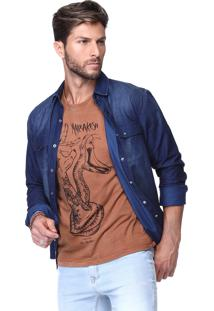Camisa King&Joe Jeans Escuro