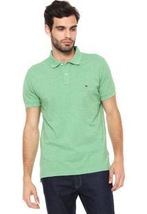 65f1ec9bdd173 ... Camisa Polo Tommy Hilfiger Reta Heater Essential Verde