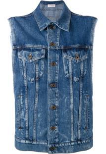 Faith Connexion Colete Jeans - Azul