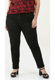 Calça Feminina Skinny Stretch Plus Size Uber Jeans
