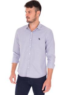 Camisa Manga Longa Side Walk Camisa Lorenzo Marrom