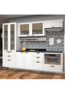 Cozinha Completa 8 Peã§As Americana Multimã³Veis 5664Smf Branco - Branco/Incolor - Dafiti