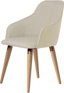 Cadeira Martha Linho C/ Pu Retro Província