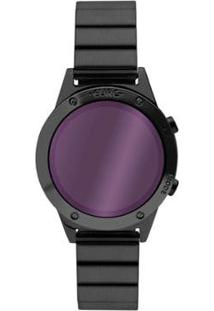 Relógio Euro Fashion Fit Reflexos Feminino - Feminino-Preto