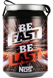 Cooler Térmico 24 Latas Pro Tork Nos Be Fast Or Be Last - Unissex-Preto