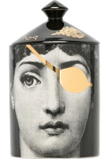 Fornasetti Vela Perfumada - Preto