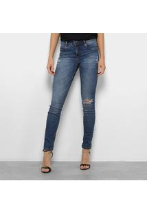 94c669fe4 ... Calça Jeans Skinny Colcci Fátima Cintura Média Feminina - Feminino