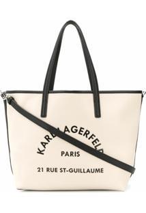 Karl Lagerfeld Bolsa Tote Rue St Guillaume - Neutro