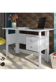 Mesa Para Computador C216 Bb Branco Brilho - Dalla Costa